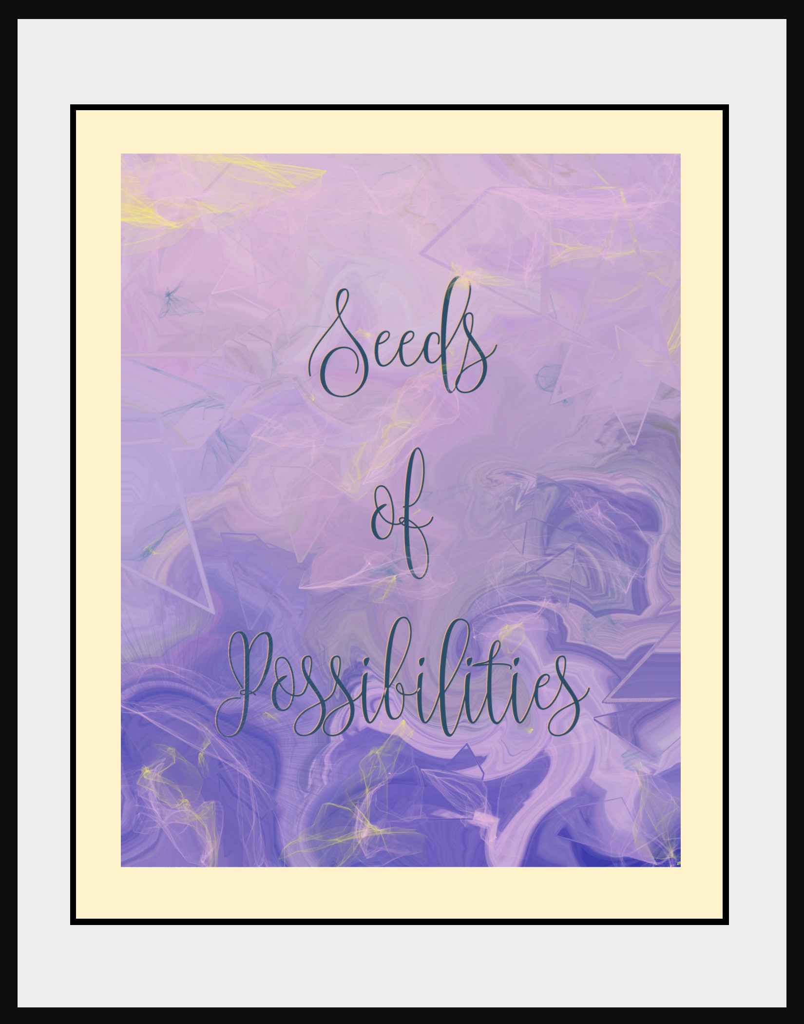 Seeds of Possibilites Instant Download