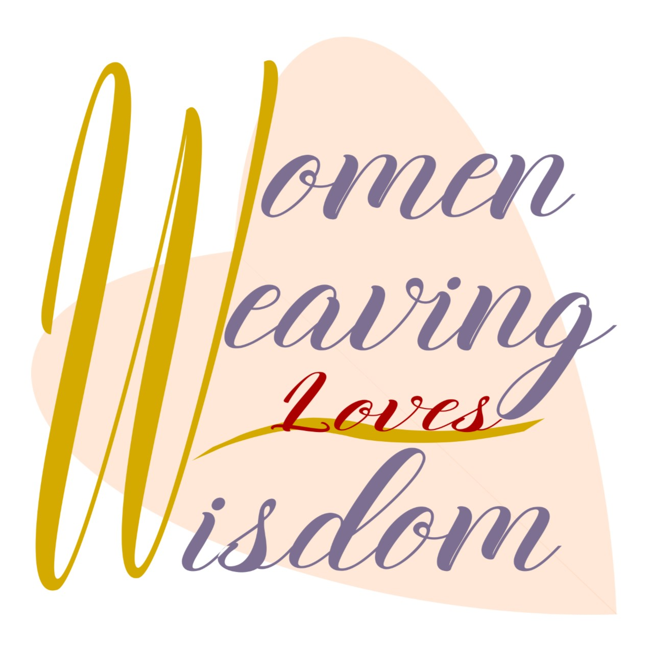 Women Weaving Loves Wisdom Instant Download