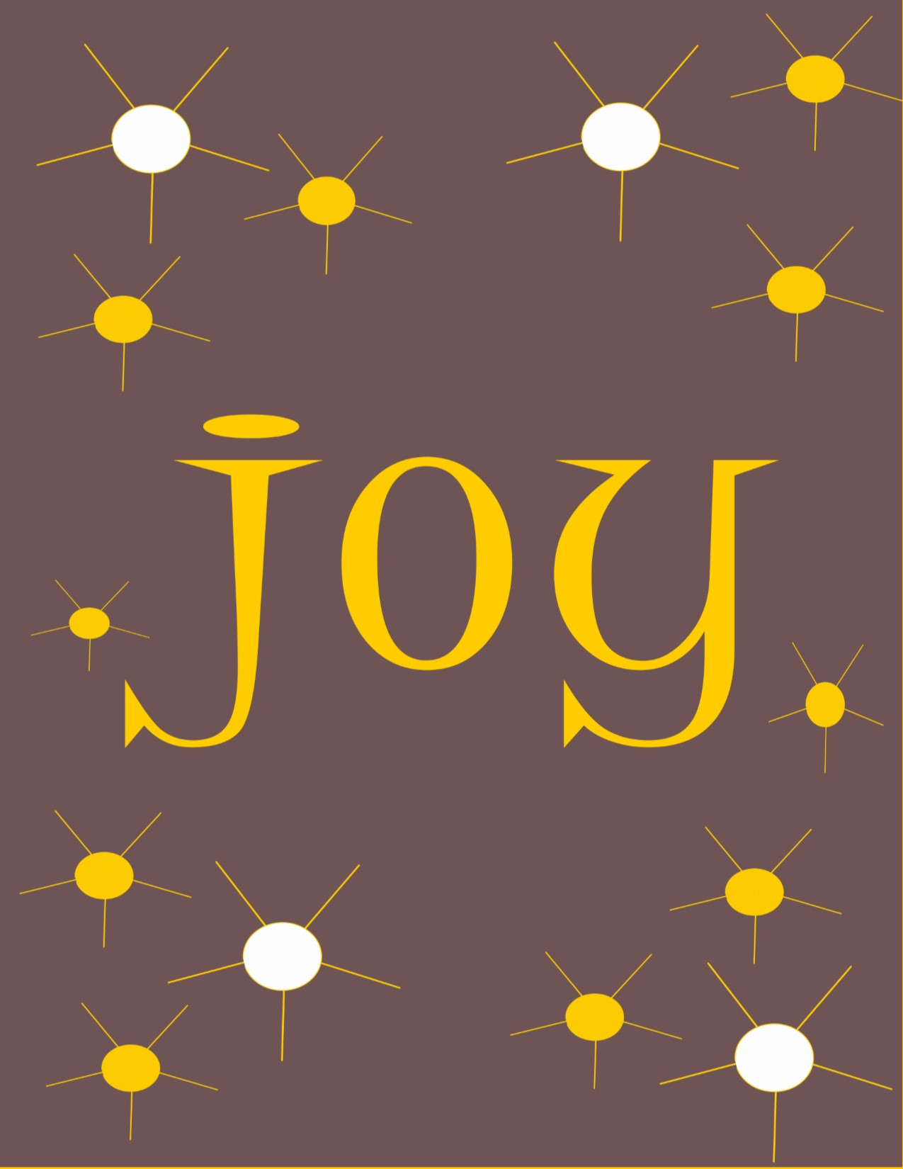 Joy Retro Instant Download