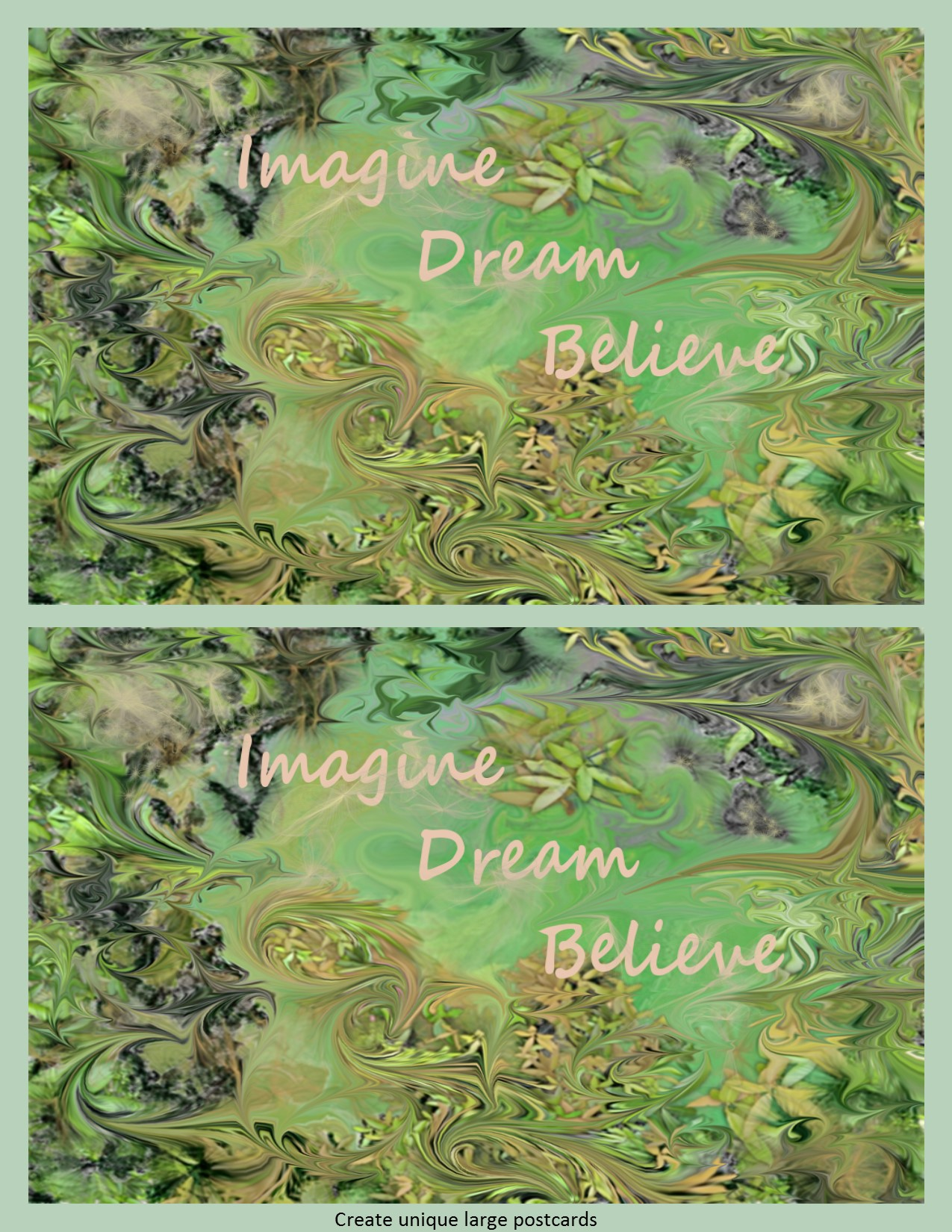 Imagine Dream Believe Instant Download