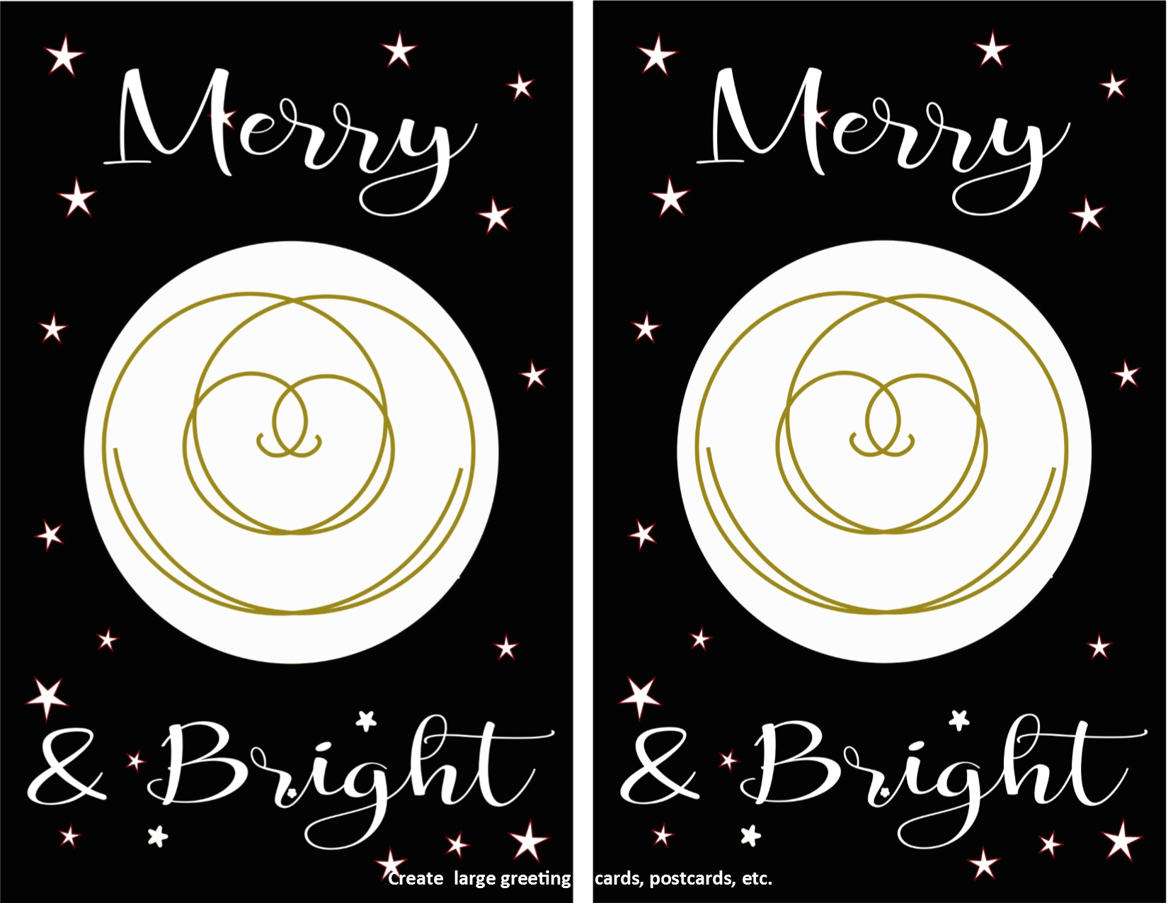 Merry & Bright Instant Download