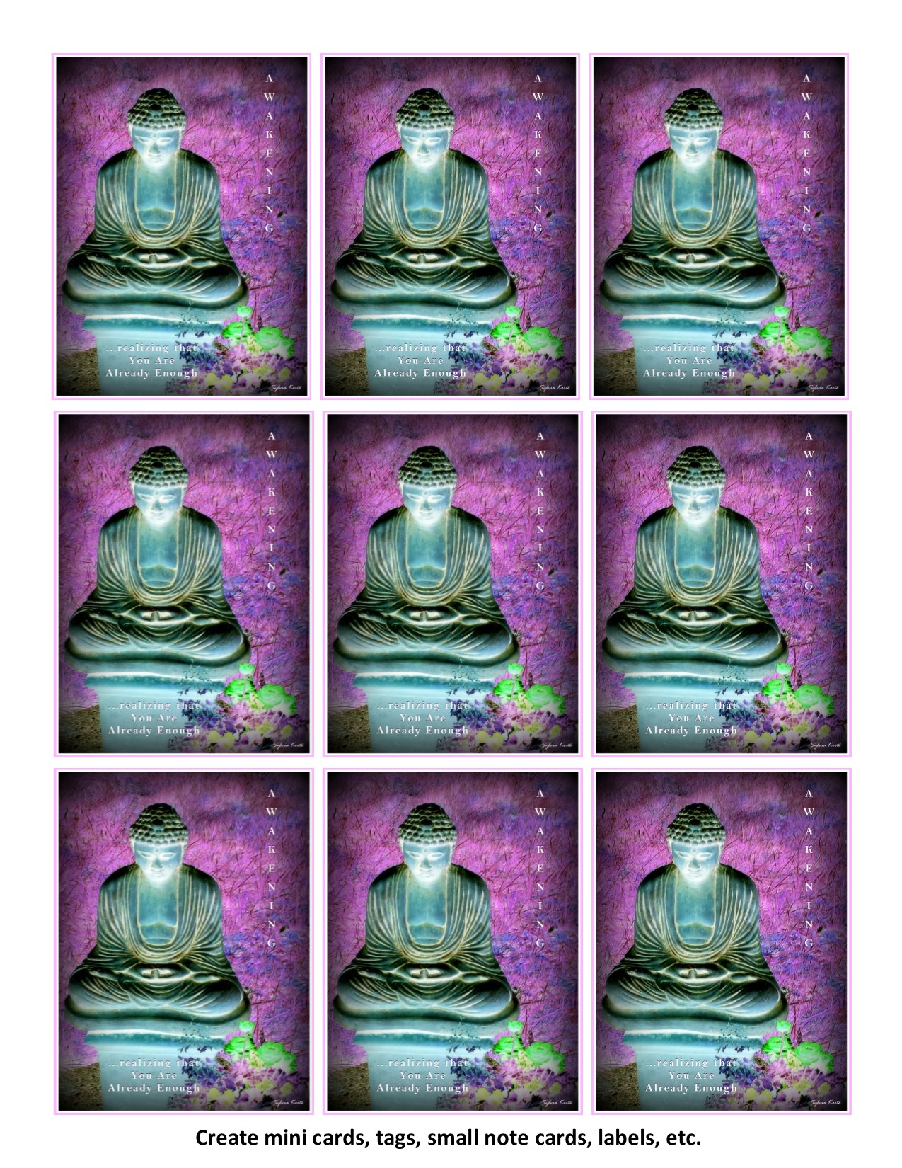 Awakening Buddha Instant Download